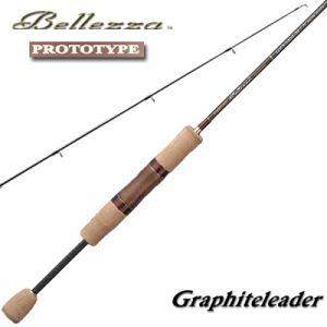 Удилище спиннинговое двухчастное Graphiteleader Bellezza PROTOTYPE GLBPS-722SUL-T 0.8-5 g