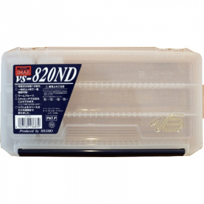 Коробка для приманок Pontoon21 VS-820ND-P21-CL (233×127×34)
