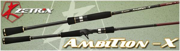 Удилище спиннинговое Ambition-X AXS-762M 6-25 гр.