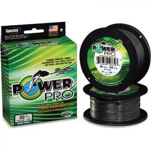 Леска плетеная Power Pro 275 м желтая 0,32/24 кг