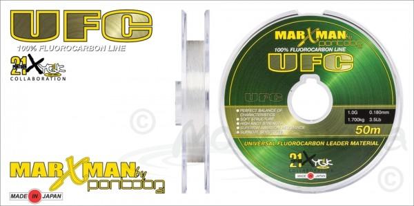 Леска флюорокарбон Pontoon21 MARXMAN UFC, 0.380 мм(5.0G), 7.500кг, 16.5Lb, 50м.