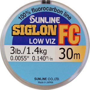 Леска флуорокарбон SUNLINE Siglon FC 30 m #0.6/0.140 mm 1,4 кг.