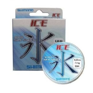 Леска Shimano Ice Silkshock 50м 0,08мм 0,85 кг