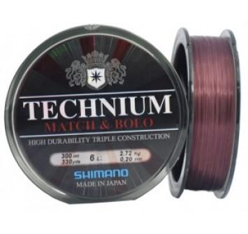 Леска Shimano Technium Match Line 150м 0,20мм 4,25 кг
