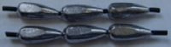 "Груз ""капля"" на кембрике силикон, вес 0,2 гр, гкс-002"