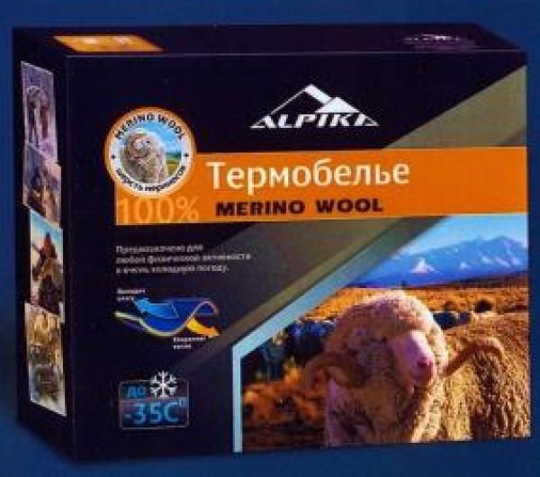 "Термобелье ALPIKA ""MERINO Wool"" (50)"