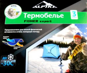 "Термобелье ALPIKA ""FISHER Expert"" (46)"