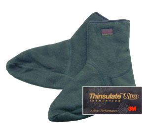 Носки с утеплителем Thinsulate (зеленые) TA1128BM - B7550-1