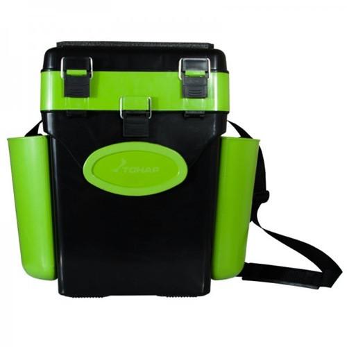 Зимний ящик FishBox (10л) зел.оранж.(Helios)