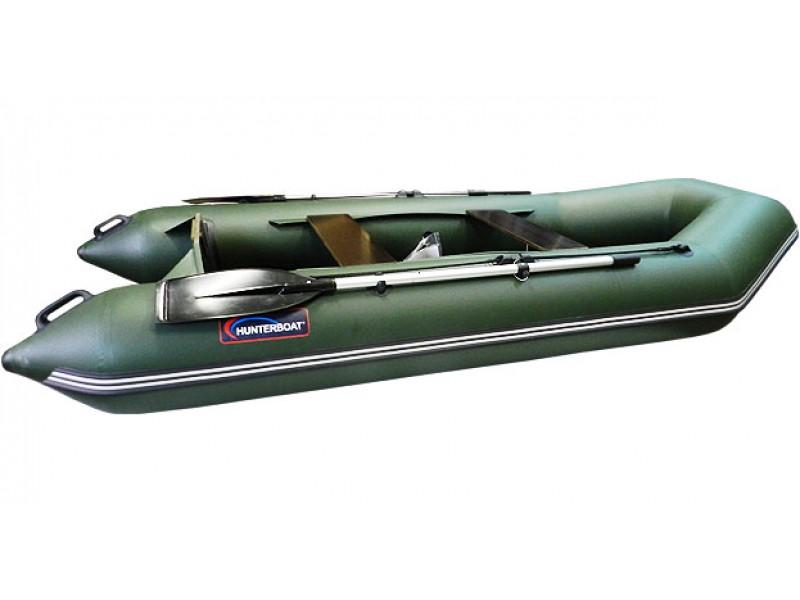 Надувная лодка Хантер 320 Л, цвет зеленый, арт. 320032