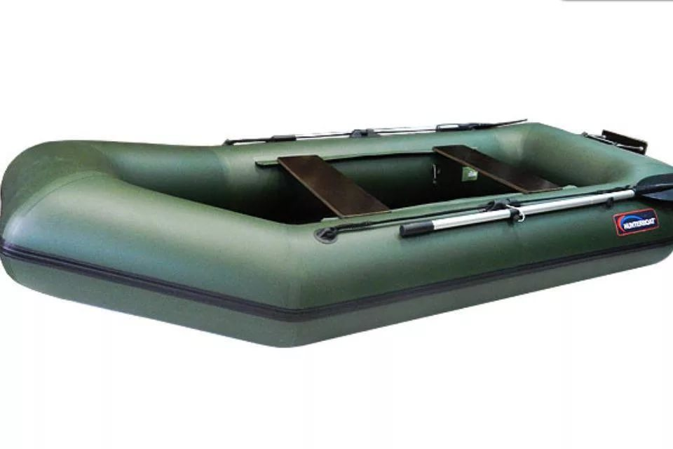 Надувная лодка Хантер 280 ЛТ, цвет серый, арт. 280041