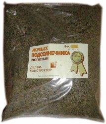 Прикормка - добавка Жмых подсолнечника молотый 0,5 кг