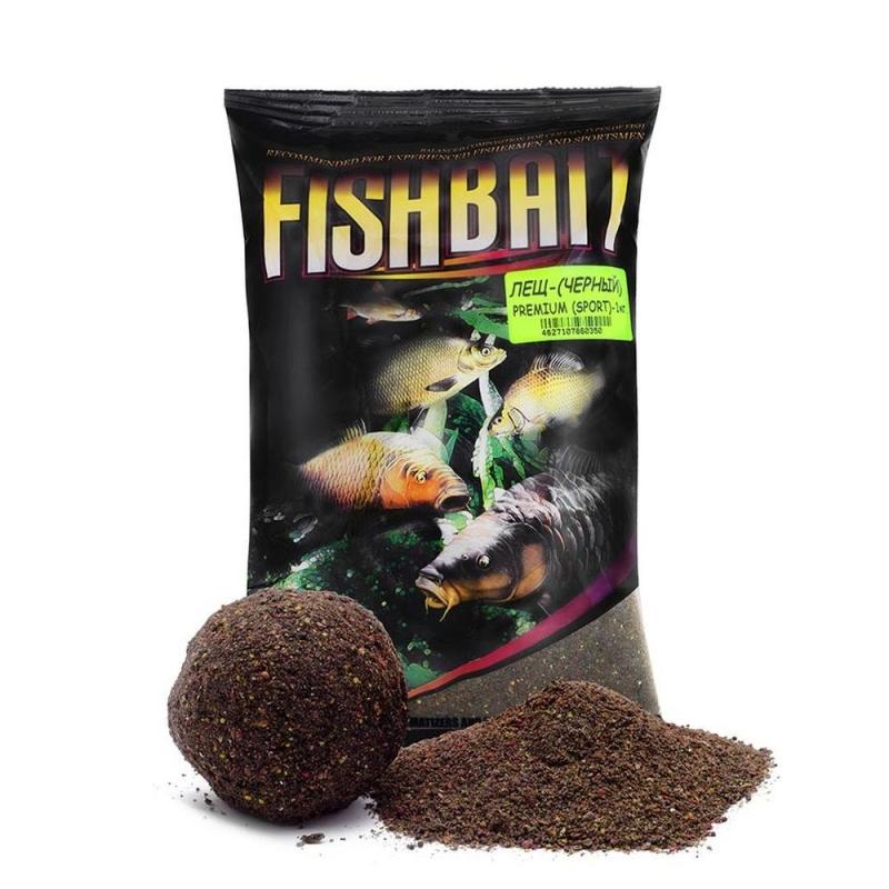 Прикормка Fish Bait Premium SPORT Лещ Черный 1 кг