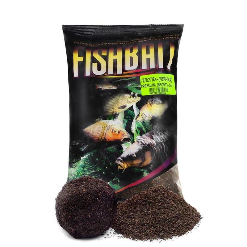 Прикормка Fish Bait Premium SPORT Плотва Черн 1 кг