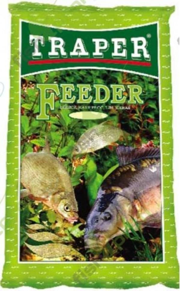 """Прикормка """"TRAPER"""" 00051 Feeder (Фидер) 1 кг"""