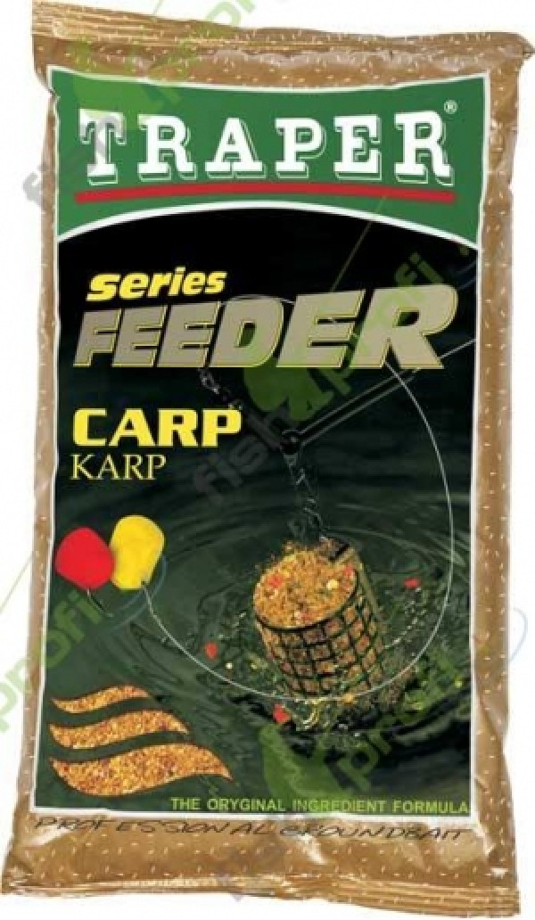 "Прикормка ""TRAPER"" 00100 Feeder Series Carp (Фидер серия- Карп) 1 кг"
