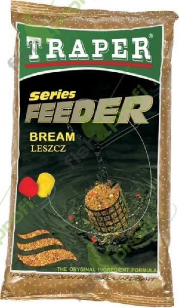 """Прикормка """"TRAPER"""" 00099 Feeder Series Bream (Фидер серия-лещ) 1 кг"""