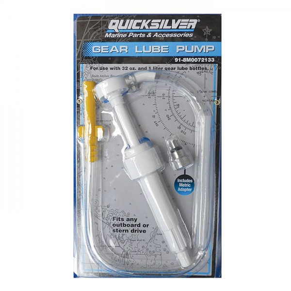 Насос для закачки масла в редуктор Quicksilver
