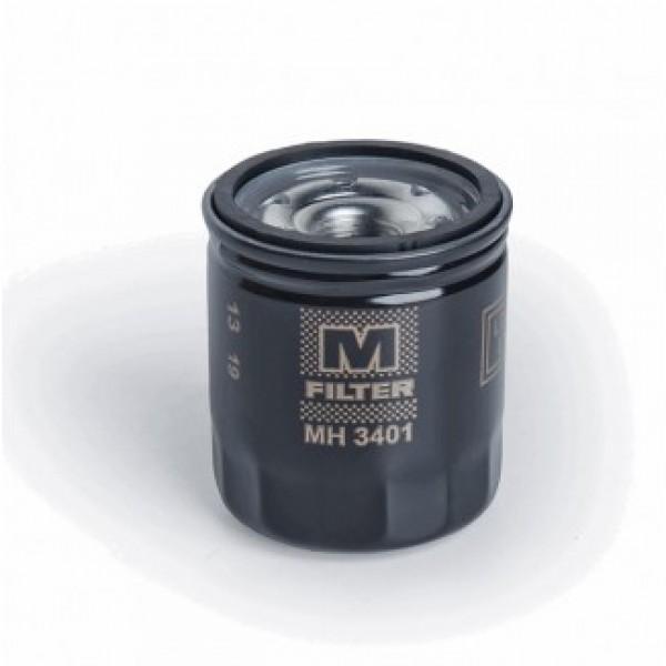 Фильтр масляный MH 3401  для лодочных моторов Tohatsu 9.9-30, Yamaha 9.9-115