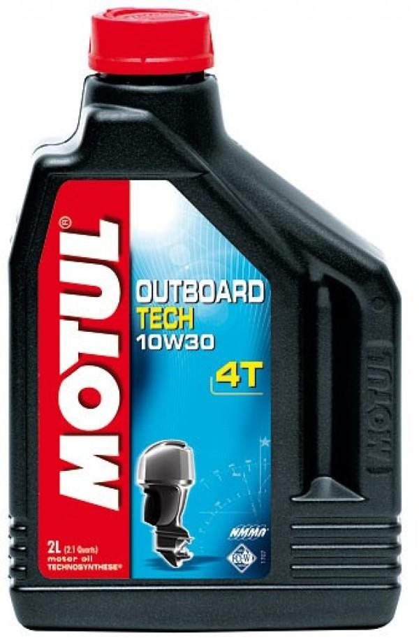 Моторное масло Outbord Tech 10W-30  4T 1литр 106453 полусинтетика