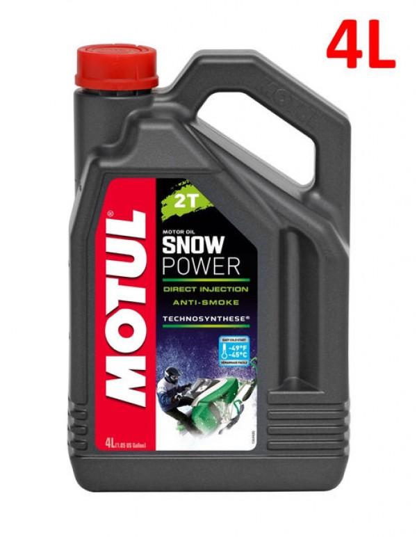 Масло Motul Snwpower 2T  4L