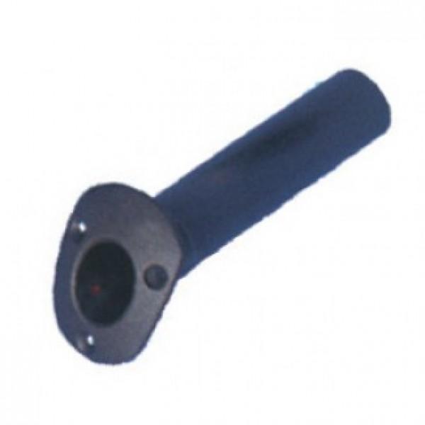 Держатель спиннинга врезной 215х40 мм, черный пластик