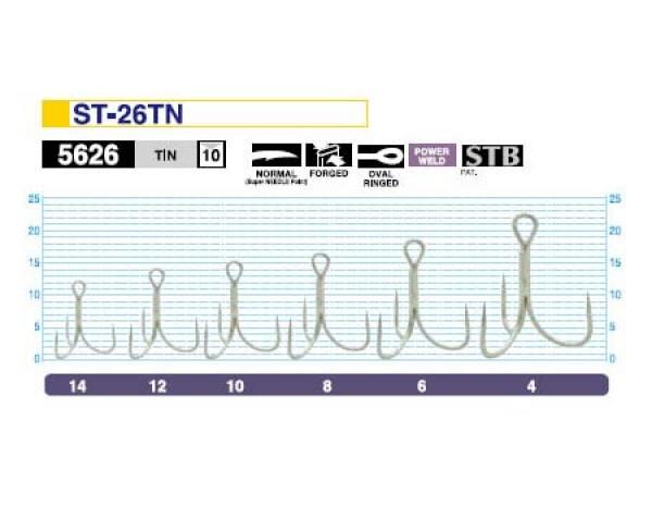 Тройной крючок Owner ST-26BC №10